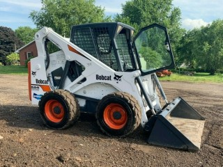 2001 BOBCAT 883 SKID STEER WHEEL LOADER FULL CAB TRACTOR