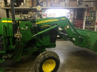 John Deere 553 front End Loader